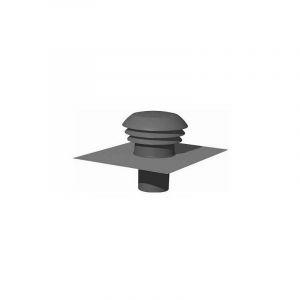 Chapeau de toiture plastique CPR160 - 160 mm - Ardoise Unelvent 876005 - Ardoise