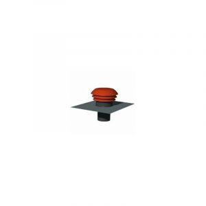Chapeau de toiture métallique, D 125 mm - UNELVENT