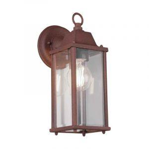 Trio Leuchten - Applique, design lanterne, rouille, H 29 cm, OLONA