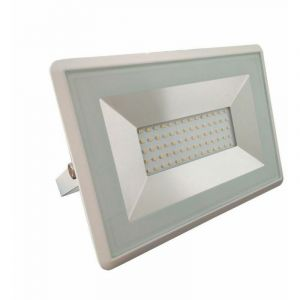 V-TAC VT-4051 projecteur led smd 50W blanc froid 6500K E-Series ultra slim blanc IP65 - SKU 5963