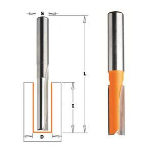CMT : Fraise carbure droite 19 mm Longue Q = 12,7 mm