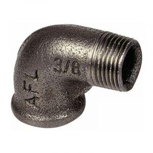 92 - coude 90° MF noir Mâle - Femelle 3/4''