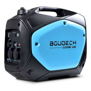 BOUDECH - Elektron 2200 - Générateur numérique à onduleur 2KW/4HP avec moteur OHV 4 temps, groupe électrogène 2200W à économie d'énergie