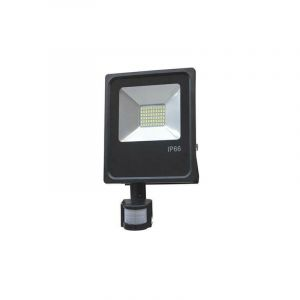 Fl5493 20W Led Smd Floodlight Warm White Light - Ip66 With Sensor - OPTONICA