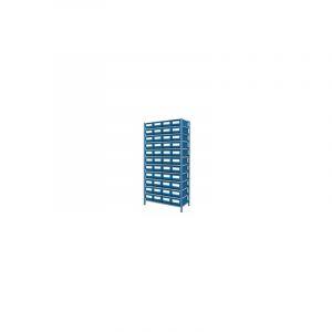 Étagère métallique avec 44 casiers de rangement - S09052 - SODISE