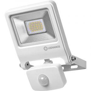 Projecteur LED extérieur avec détecteur de mouvements 20 W x LED intégrée blanc chaud LEDVANCE 4058075239692 blanc 1 pc(s)