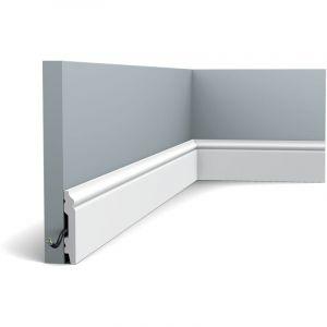 SX165F Flexible Plinthe Polymère Orac Decor - 7x1x200 (h x p x l) plinthe décorative - rigideouflexible : flexible - conditionnement : A l'unité