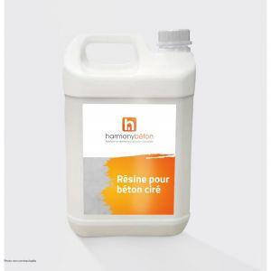 Résine pour béton ciré - Conditionnement - 5 L - HARMONY BETON
