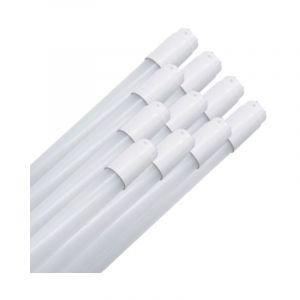 Tubes Néon LED 120cm T8 Opaque 20W IP40 (Pack de 10) - Blanc Froid 6000K - 8000K - SILAMP