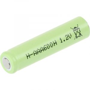 Mexcel H-AAA600H Accu LR03 (AAA) NiMH 600 mAh 1.2 V 1 pc(s)