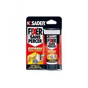 Sader - Colle Fixer sans percer en mini tube souple 55 ml - 30600420