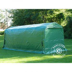 Tente de stockage Tente Abri PRO 2,4x6x2,34m PVC, Vert - DANCOVER