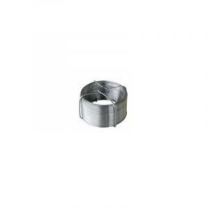 Fil fer gal.pla.vert ligatur.50m95650 - OUTIFRANCE
