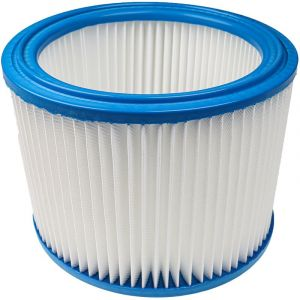 vhbw Filtre rond / filtre en lamelles pour aspirateur, robot aspirateur, multi-usages Nilfisk / Alto / Wap Attix 40-01 PC, 40-21 PC, 50, 50-01 PC