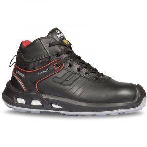 Chaussure de sécurité montante en cuir hydrofuge embout Prem-Alu JALTURBO SAS ESD S3 CI SRC - JYJY132 - Jallatte - Noir - 44 - taille: 44