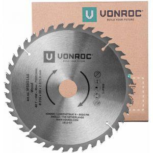 Lame de scie universelle. 216 mm de diamètre – 40 dents – MS801AA - VONROC