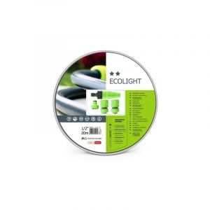 "Cellfast - ecolight set - tuyau d'arrosage 20 m - 4 t,tes - 1/2"" - PEREL"