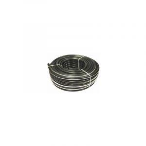 TUYAU PVC NOIR POUR AIR COMPRIME ET LIQUIDE - 20 BARS - 50M - S06010 | 16x23xmm - SODISE