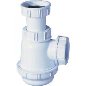 Siphon pour lavabo ou bidet a culot court O32 mm - WIRQUIN