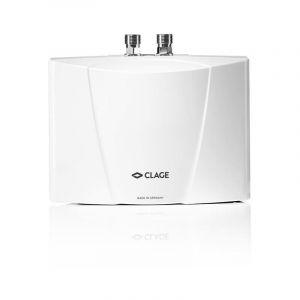 Chauffe-eau électrique instantané pour lavabo - MBH 6 - Débit 3,3 l/min. Puissance : 5,7 Kw - 230 Volt - 25 A, avec câble - MONO - CLAGE