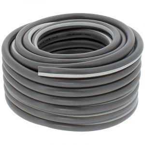 Tuyau d'arrosage professionnel 5 couches Ø 19 mm (3/4 pouce) - Longueur 30 mètres - HUGGY TUYAUX