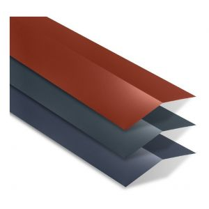 Faîtière double plate universelle 2100 mm | Rouge Tuile | RAL 8012 - YOUSTEEL