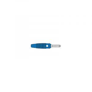 FICHE MULTICONTACTS 4mm A TROU TRANSVERSAL - BLEU (VERSION 30A) (BULA 30K) - HM1420B - HIRSCHMANN