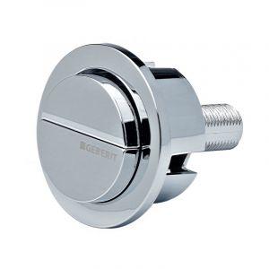 Bouton double poussoir pour soupape 290 - GEBERIT