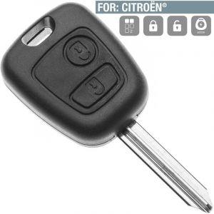 Boitier télécommande Plip 2 Boutons Citroen Picasso et Berlingo - SILCA