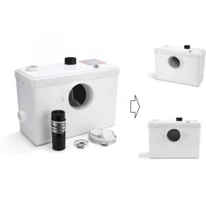 Broyeur Sanitaire / WC 600W - 3 en 1 WC + Lavabo, douche - BIGB