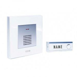 Set complet pour Sonnette sans fil m-e modern-electronics FG5.2 200 m blanc, argent V395921