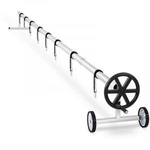 Uniprodo - Enrouleur Piscine Enrouleur De Bâche à Bulle Solaire 3,0 à 5,7 M Hors Piscine