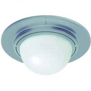 Détecteur de mouvements PIR Steinel 034917 pour l'extérieur, pour l'intérieur plafond 360 ° inox IP54
