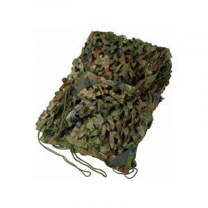 Filet de camouflage 4x5m en polyéthylène 65 gr imputrescible et traité anti UV - DESTOCKOUTILS
