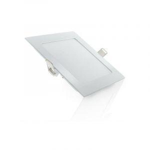 Led Slimline Downlight Carré 120Mm 6W 400Lm 30.000H | Blanc froid (JL-GP-LZ-4) - GREENICE