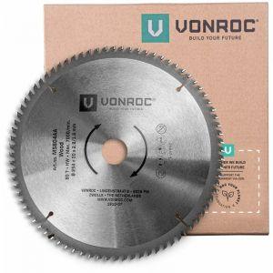 Lame de scie universelle. 254 mm de diamètre – 80 dents – MS804AA - VONROC