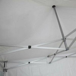Mobeventpro - Toit de tente pliante 4x4 m 520g/m²