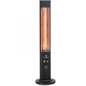 blumfeldt Heat Guru Plus In & Out radiateur 1200 W 3 niveaux de chauffage noir