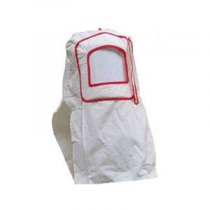 Masque Cagoule Visière Blanc de Protection de Sablage - EQUIPEMENT EXPRESS SICOBA