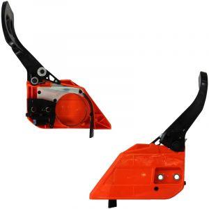 Frein de chaîne orange pour tronçonneuse - GT GARDEN