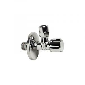 Somatherm For You - Robinet d'arrêt chromé sous lavabo moèdle long M12/17 Ø10