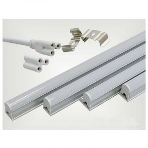 Tube néon LED 60cm T5 9W - couleur eclairage : Blanc Froid 6000K - 8000K - SILAMP