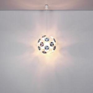 Lampe de football suspendue, colorée, H 120, LURRA - GLOBO