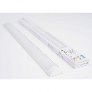 Réglette lumineuse LED 60cm 18W - Blanc Froid 6000K - 8000K - SILAMP
