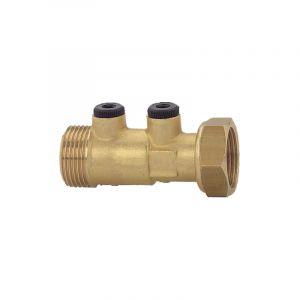Clapet anti-pollution NF laiton écrou/m 20x27 - WATTS