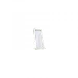 Hublot décoratif rectangulaire 380x225 vitre incolore - NICOLL