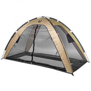 Tente lit moustiquaire 200x90x110 cm Doré - Deryan