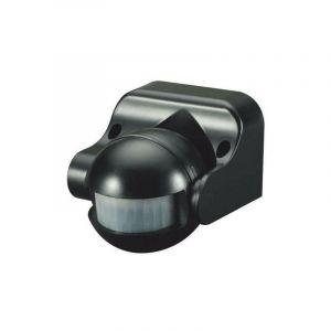 Détecteur de présence Orientable IP44 Noir D:12m 180° Lux:10-2000