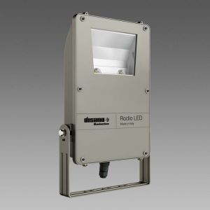 Projecteur À Leds Rhodium 1898 129W Lumière Naturelle 4000K Pour L'Extérieur Ip66 Graphite Couleur 414922-00 41492200 - DISANO