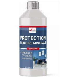 Protection & Imperméabilisant peinture argile & chaux - DECOPROTECT - ARCANE INDUSTRIES - Transparente - Liquide - 0.5 L